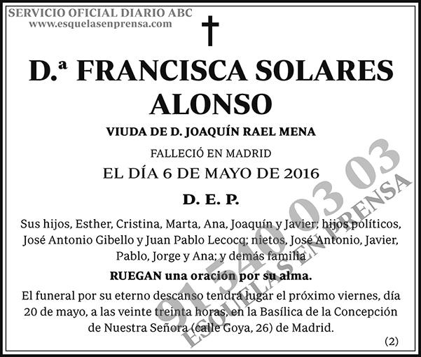 Francisca Solares Alonso